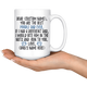 Personalized Best Poodle Dad Coffee Mug (15 oz)