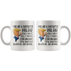 Fantastic Dog Dad Coffee Mug (11 oz) - Freedom Look