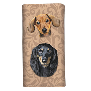 Dachshund Custom Wallet - Limited Time Available - Freedom Look