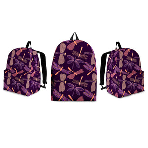 Dragonfly Violet Backpack - Freedom Look