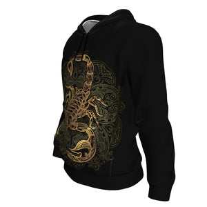 Born In October Scorpio Hoodie - Freedom Look