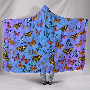 Butterfly Hooded Blanket - Freedom Look