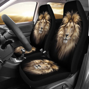 Lion Car Seat Covers - Freedom Look