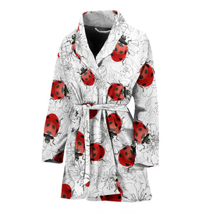 Ladybug Women's Bath Robe - Freedom Look