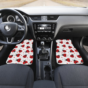 Ladybug Front And Back Car Mats (Set Of 4) - Freedom Look