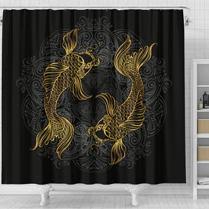 Pisces (Fish) Zodiac Shower Curtain