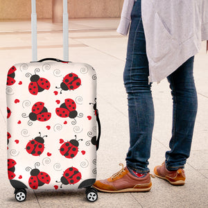 Ladybug Love Luggage Covers - Freedom Look