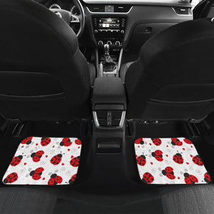 Personalized Ladybug Car Mats (Set Of 4) - Caroline