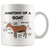 Goat Anatomy Mug - Goat Owner Gifts - Funny Goats Gifts - 3d Goat Coffee Mug - Crazy Goat Coffee Mug (11 oz) - Freedom Look
