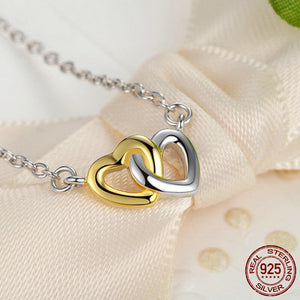 Heart to Heart - Jewelry Set - 925 Sterling Silver - Freedom Look