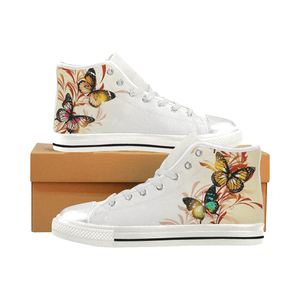 Unique Butterfly High Top & Low Top Shoes - Freedom Look