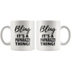 Bling It's A Paparazzi Thing Coffee Mug (11 oz) - Freedom Look