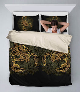Golden Scorpio Bedding Set - Freedom Look