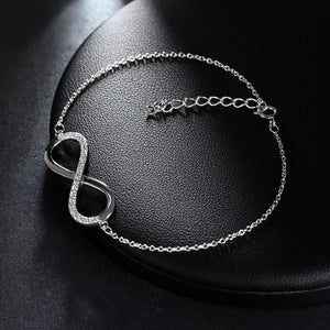 Infinity Sign - Necklace + Bracelet - Freedom Look