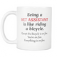 Veterinary Gift, Vet Receptionist, Vet Assistant, Vet Technician, Veterinarian Tech, Gift For Vet Tech, Vet Tech Cup, Veterinary Student, Vet Mug (11oz)