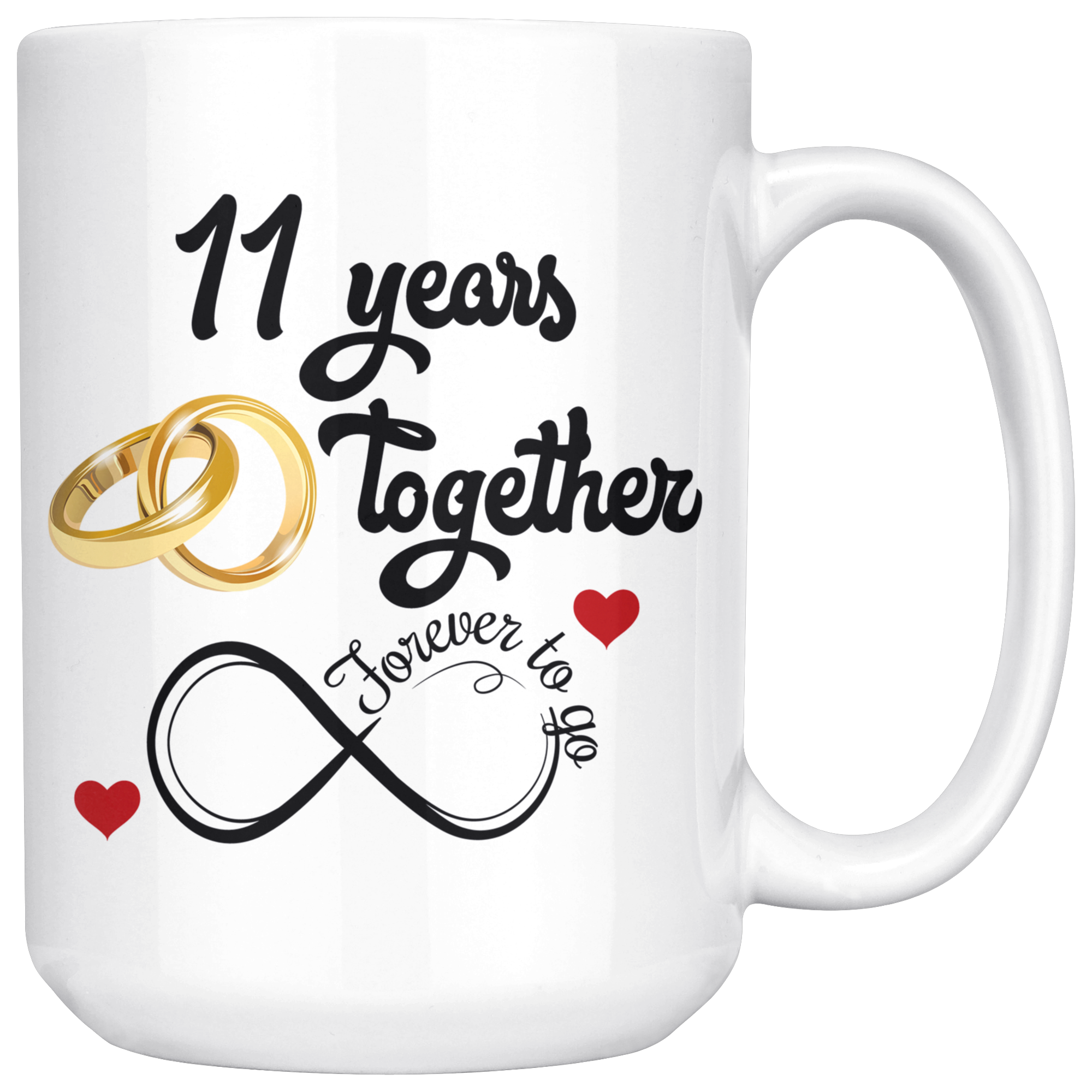 11th Wedding Anniversary Gift For Him And Her Married For 11 Years 1 Freedom Look