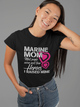 Marine Mom Army Hero Proud US Marine Army Military Forces Women & Unisex T-Shirt