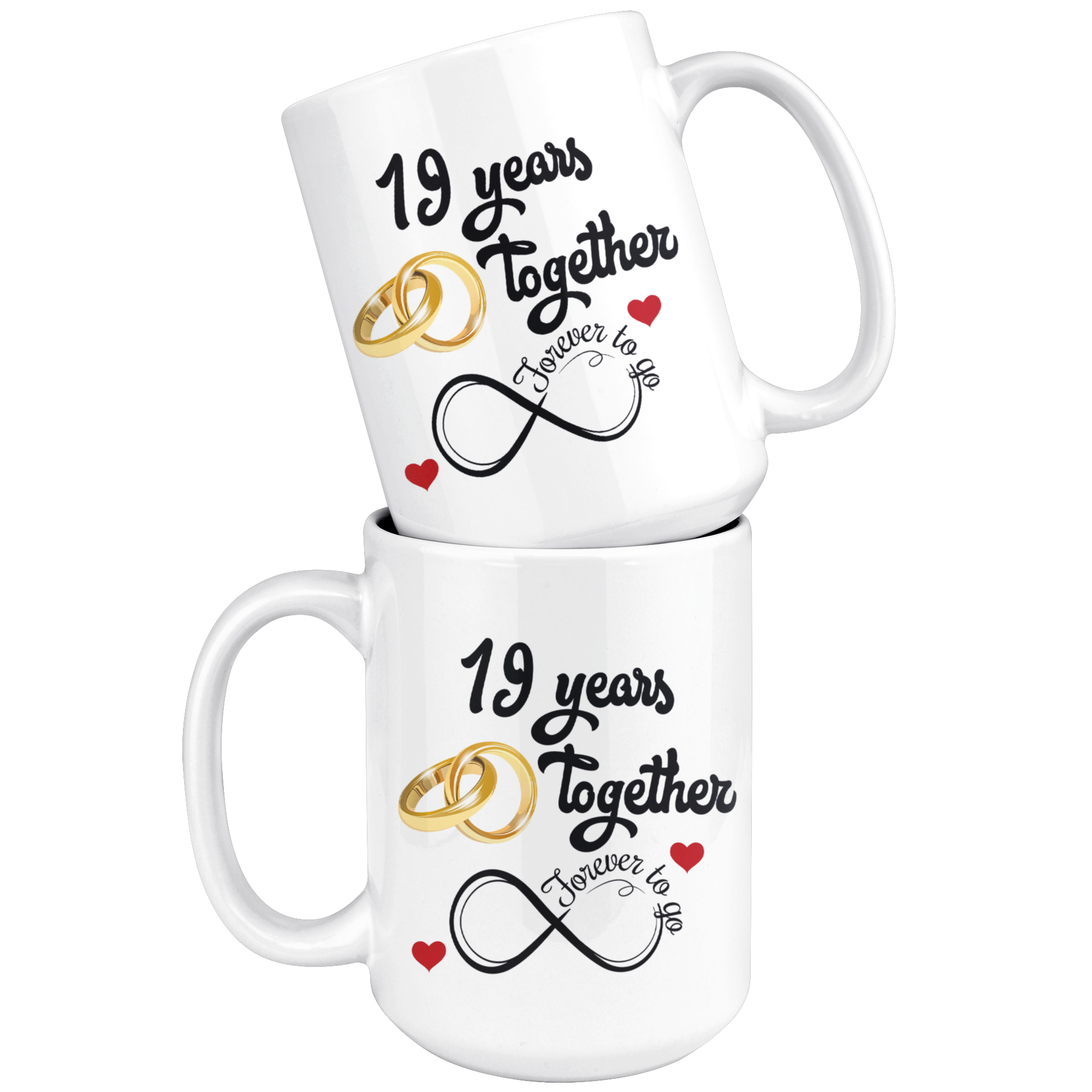 Gifts For Him For Wedding Anniversary: 19th Wedding Anniversary Gift For Him And Her, Married For