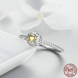 My One True Love Ring - 925 Sterling Silver - Freedom Look