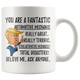 Funny Fantastic Automotive Mechanic Trump Coffee Mug (11 oz)