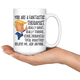 Funny Fantastical Therapist Trump Coffee Mug (15 oz)
