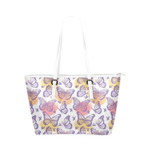 Butterflies Leather Tote Bags - Freedom Look