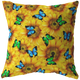Sunflowers & Butterflies Pillow