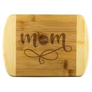 Personalized Mom Cutting Board