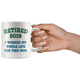 Funny Retired 2019 Mug, Retirement Coffee Mug (11 oz)