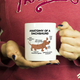 Dachshund Anatomy Mug Weenie Weiner Dog - Great Funny Gift For Daschund Owner Mug (11 oz) - Freedom Look