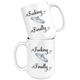 Fucking Finally Wedding Coffee Mug (15 oz)