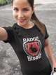 Red Badge Bunny Womens And Unisex T-Shirt