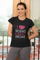 Love To Be A Proud Hockey Mom Mommy Mother's Day Women & Unisex T-Shirt