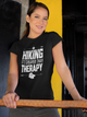 Hiking Cheaper Than Therapy Nature Exercise Women & Unisex T-Shirt
