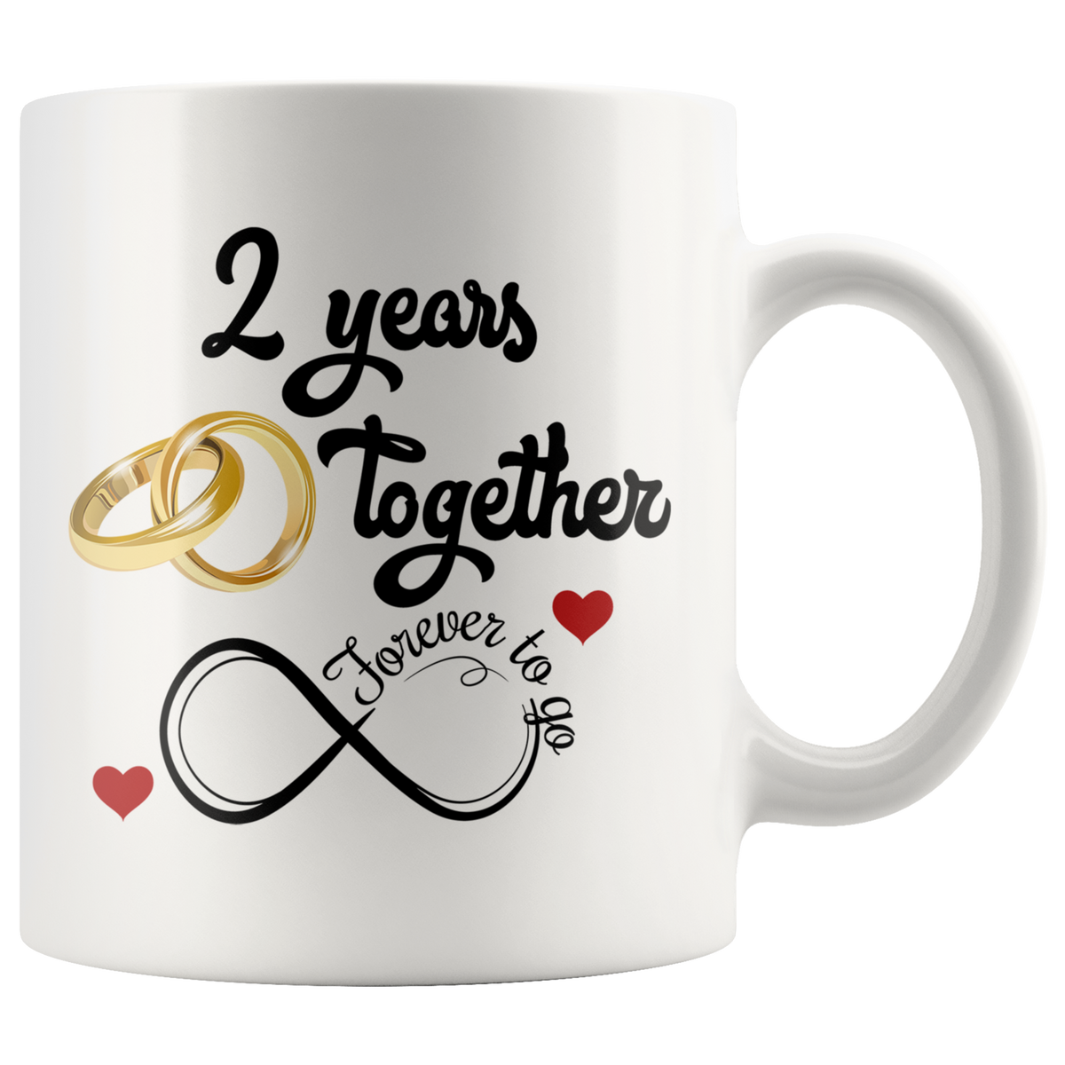 Wedding Anniversary Gifts For Her: Second Wedding Anniversary Gift For Him And Her, 2nd