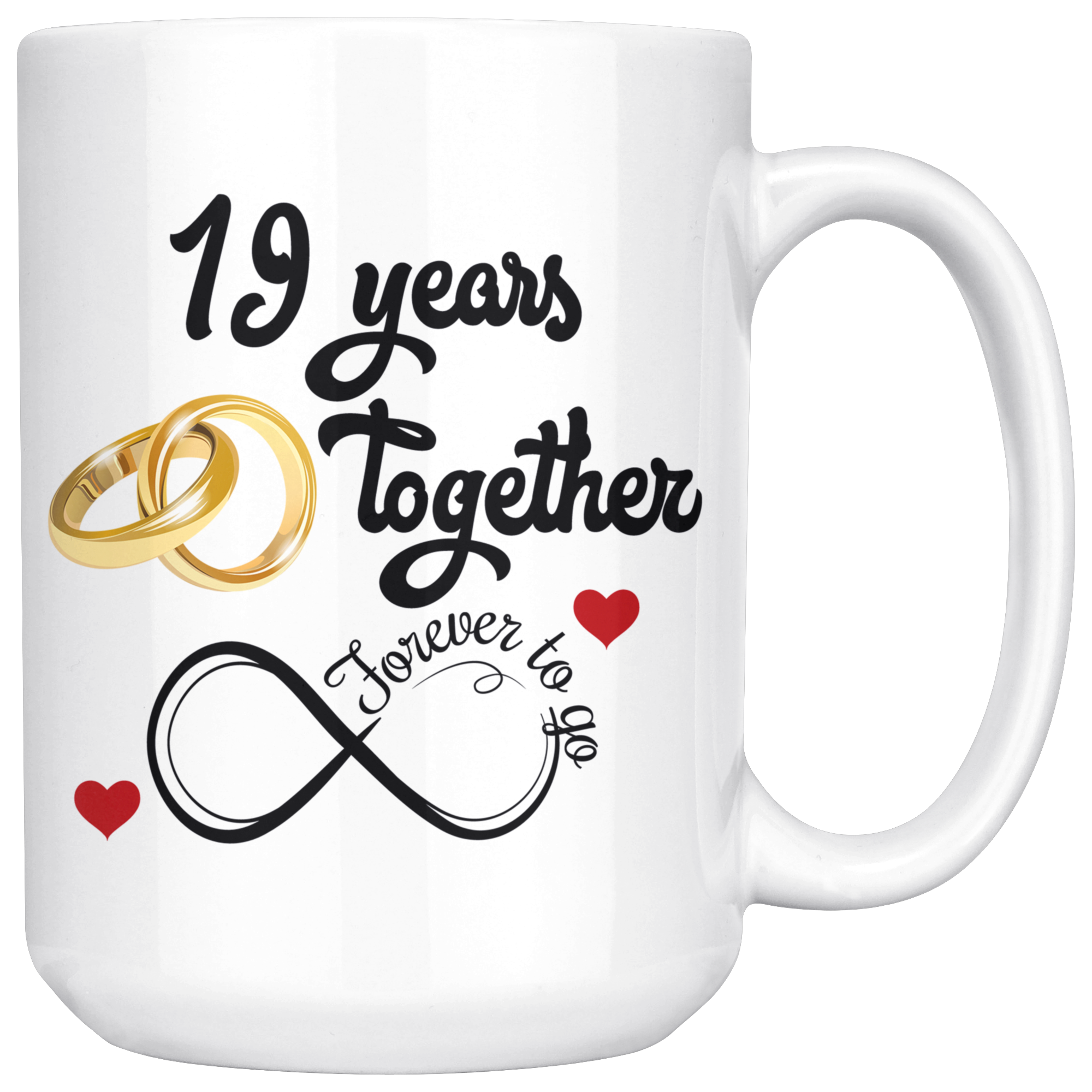 Wedding Gifts By Years: 19th Wedding Anniversary Gift For Him And Her, Married For