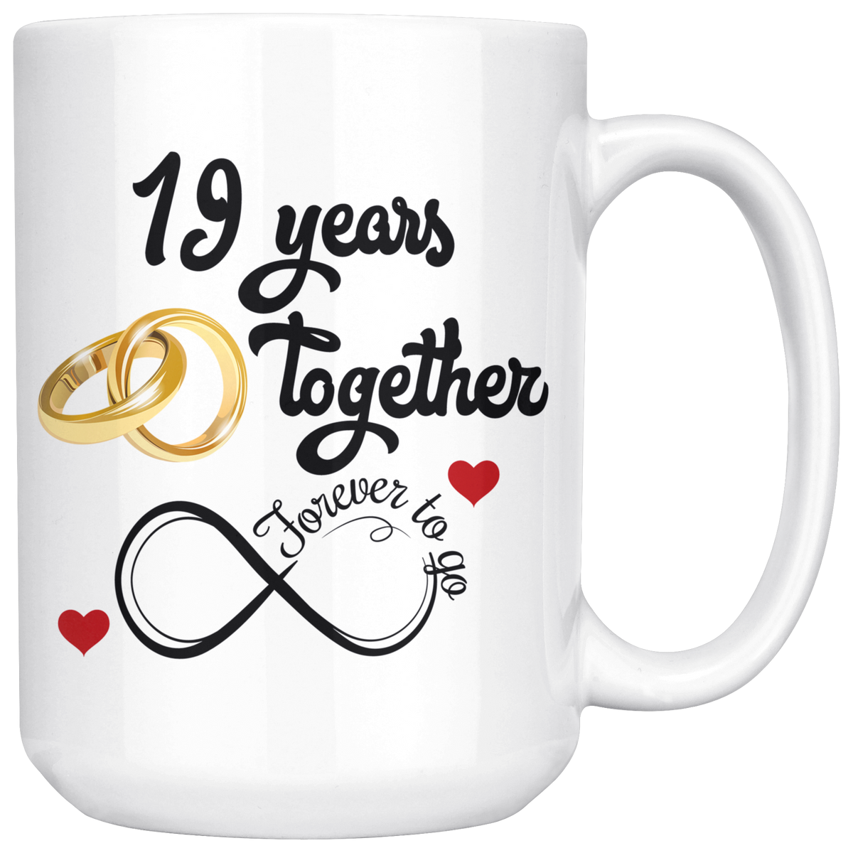 One Year Wedding Anniversary Gifts: 19th Wedding Anniversary Gift For Him And Her, Married For