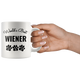 World's Best Wiener Dad Coffee Mug (11 oz)