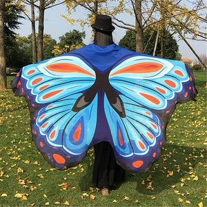 Beautiful Butterfly Wing Scarves - 14 Colors - Freedom Look