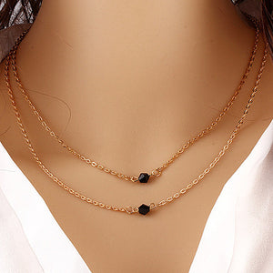 Multiple Layer Necklaces - Freedom Look