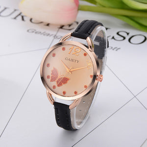 Butterfly Fashion Wrist Watch - 2017 Style - Freedom Look
