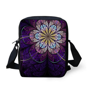 Flower Design Crossbody Bags - Freedom Look