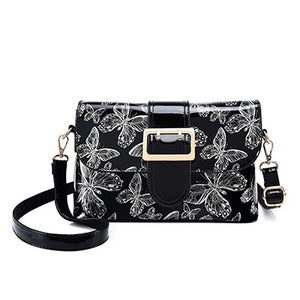 Elegant Leather Butterfly Purse & Crossbody Bag - Freedom Look