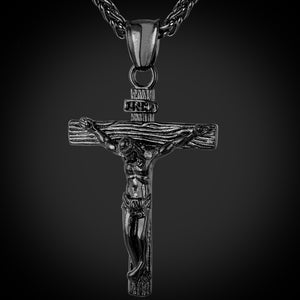 HQ Cross Necklace - Freedom Look