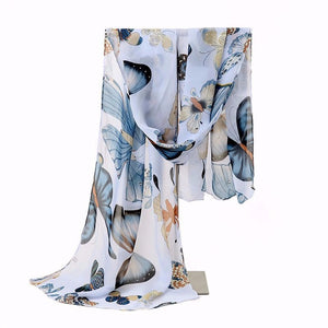 Unique & Beautiful Butterfly Scarves for 2018 - Freedom Look