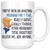 Funny 1st Anniversary Husband Trump Mug, First Anniversary Gifts For Him (15 oz)