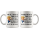 Funny Tennis Player Trump Coffee Mug (11 oz)