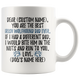 Personalized Best Irish Wolfhound Dad Coffee Mug (11 oz)