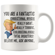 Funny Fantastic Correctional Officer Trump Coffee Mug (11 oz)