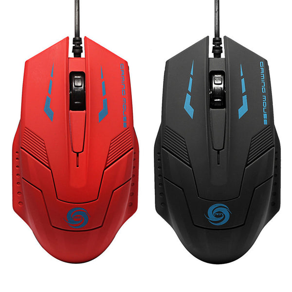 Mecall Tech® 2400 DPI Optical USB Wired Gaming Mouse